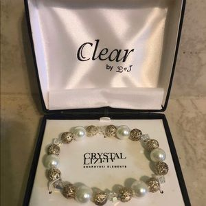 Swarovski Elements Crystal Lized By L&J Bracelet